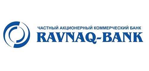 Логотип банка Ravnaq Bank