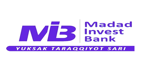 Логотип банка Madad Invest Bank