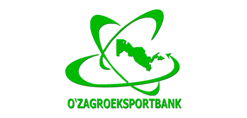 Логотип банка O'zagroeksportbank